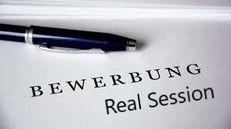 Bewerbung Real Session